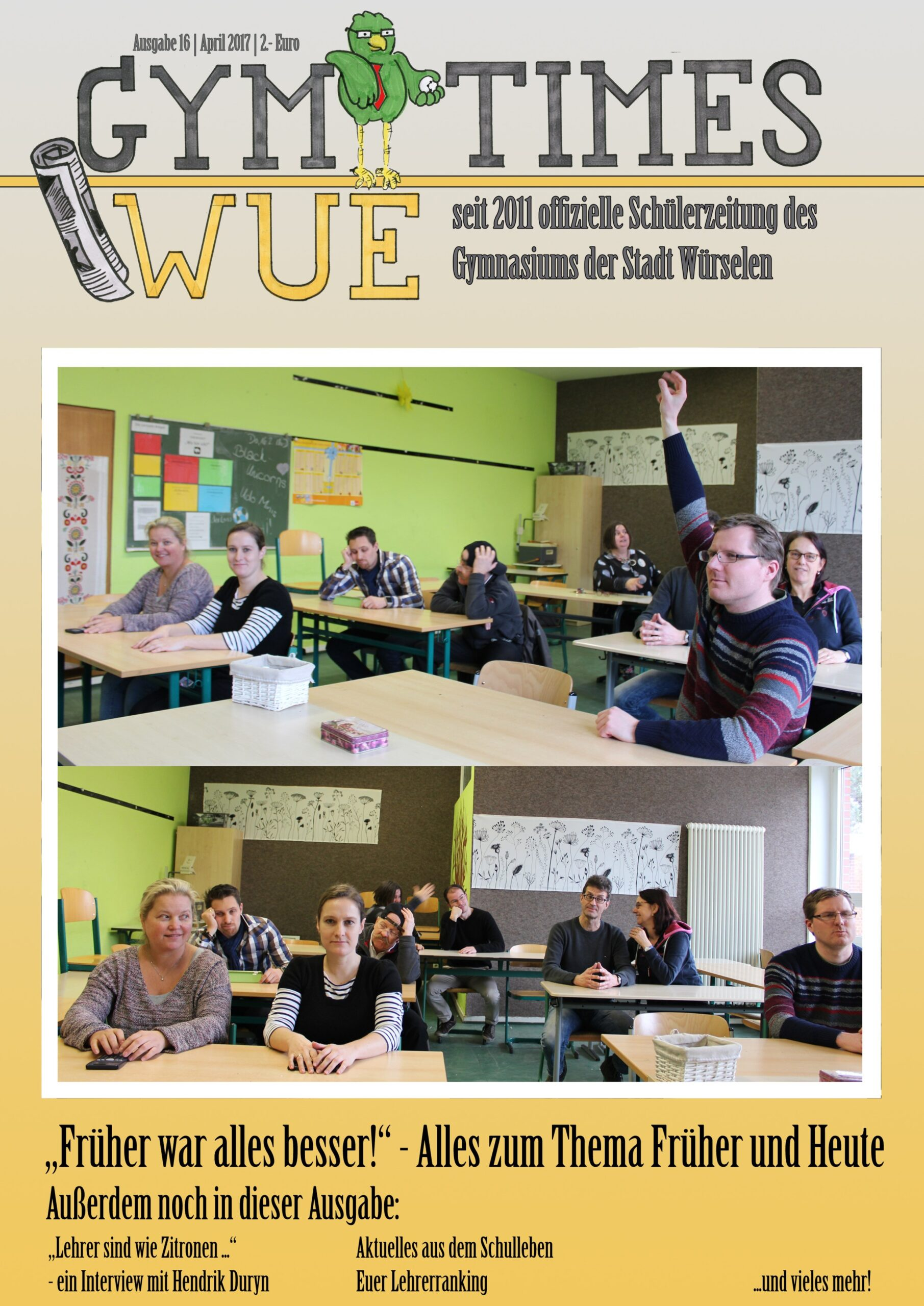 Cover von Ausgabe 16