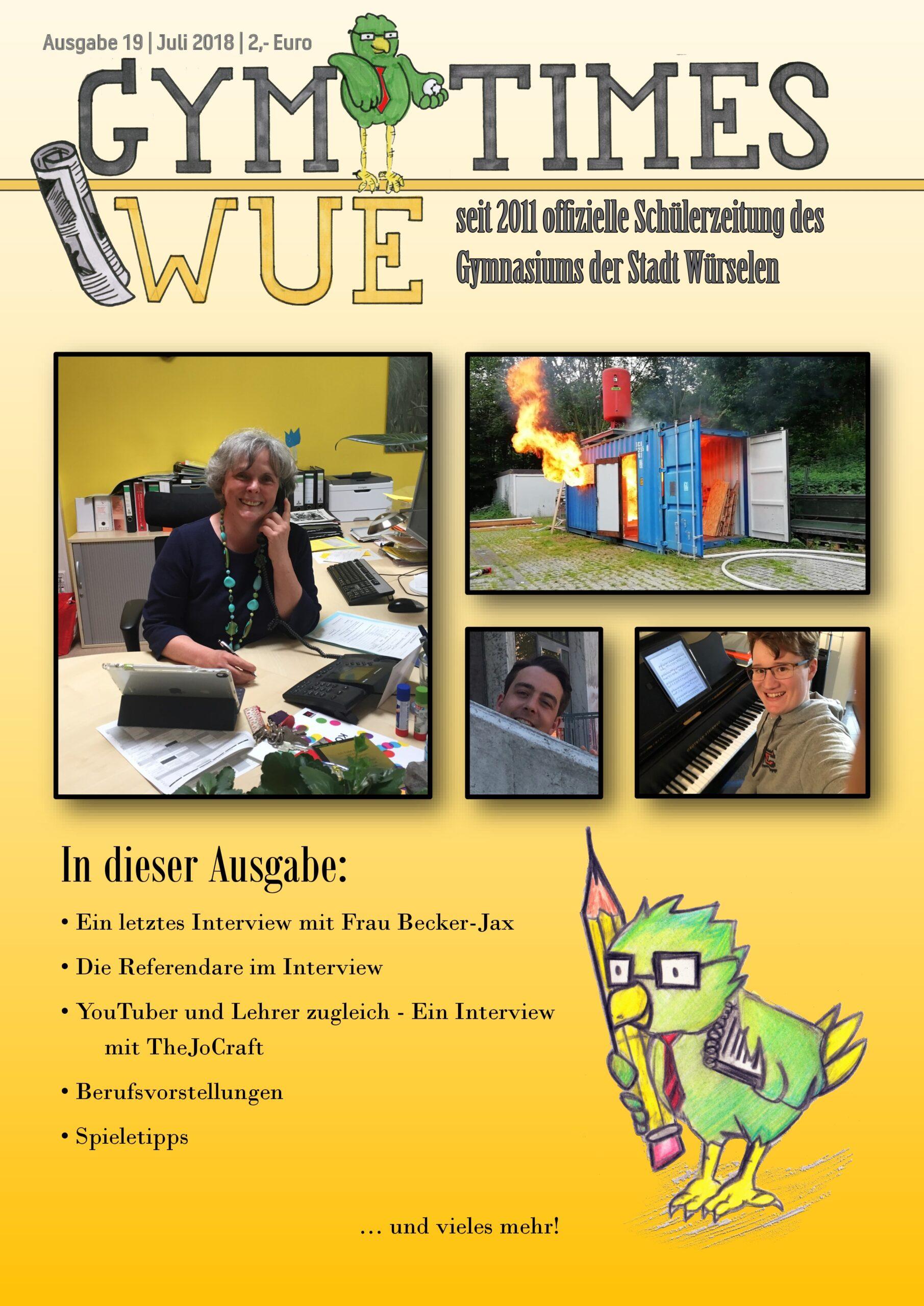 Cover von Ausgabe 19
