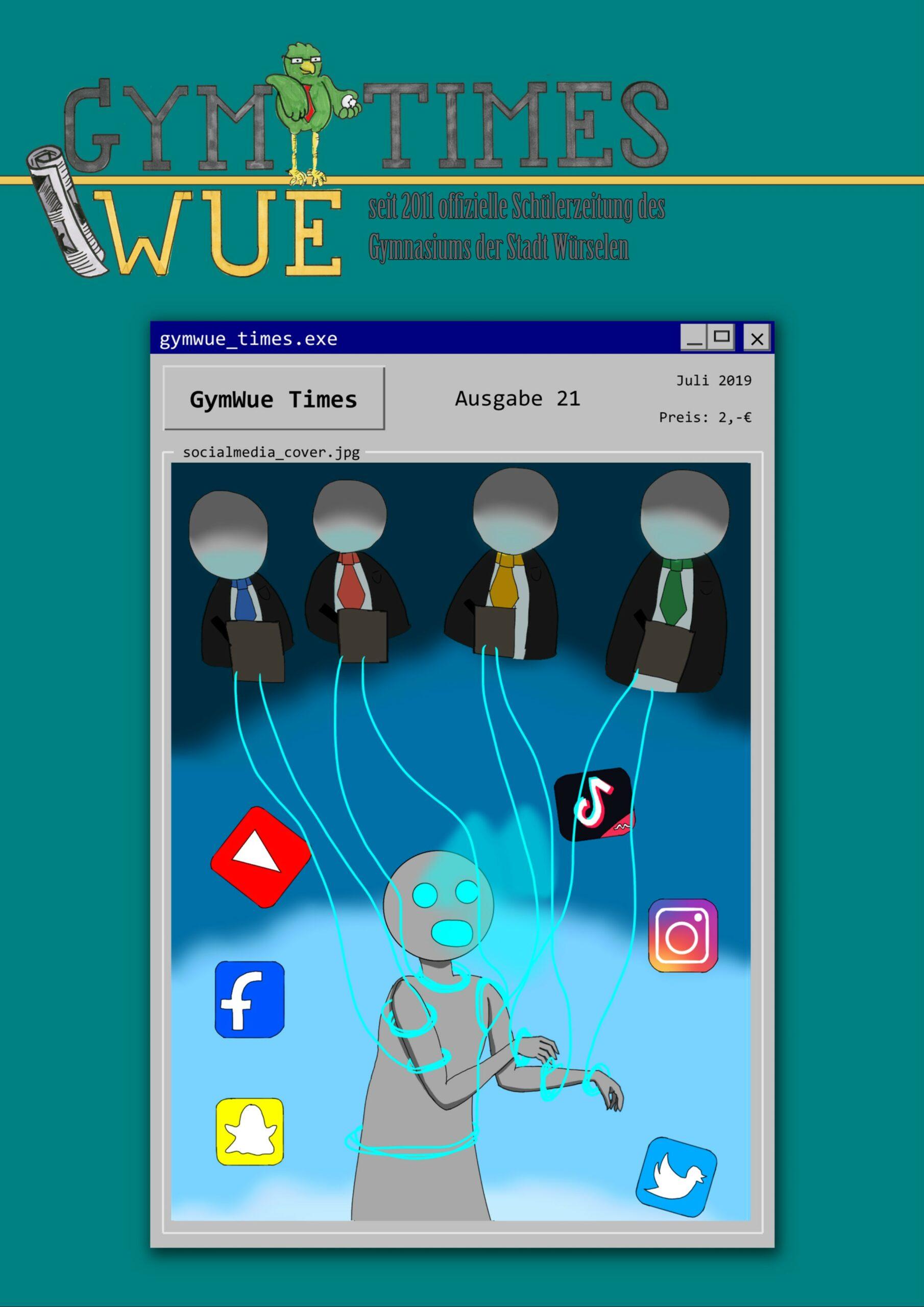 Cover von Ausgabe 21